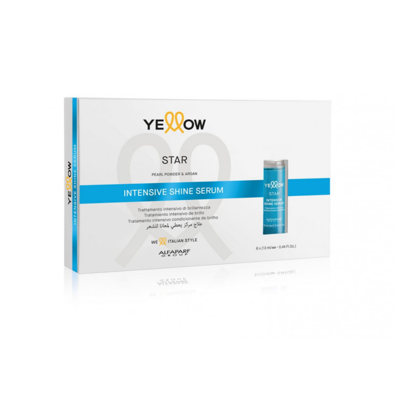 Yellow star intense shine serum