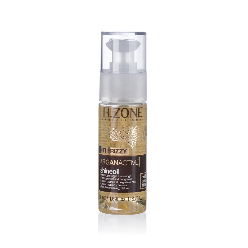 H.ZONE Argan Active Shine oil - olej na vlasy 50ml